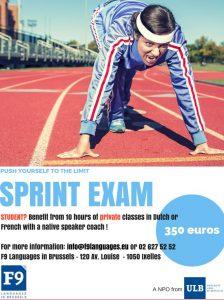 Sprint exam anglais